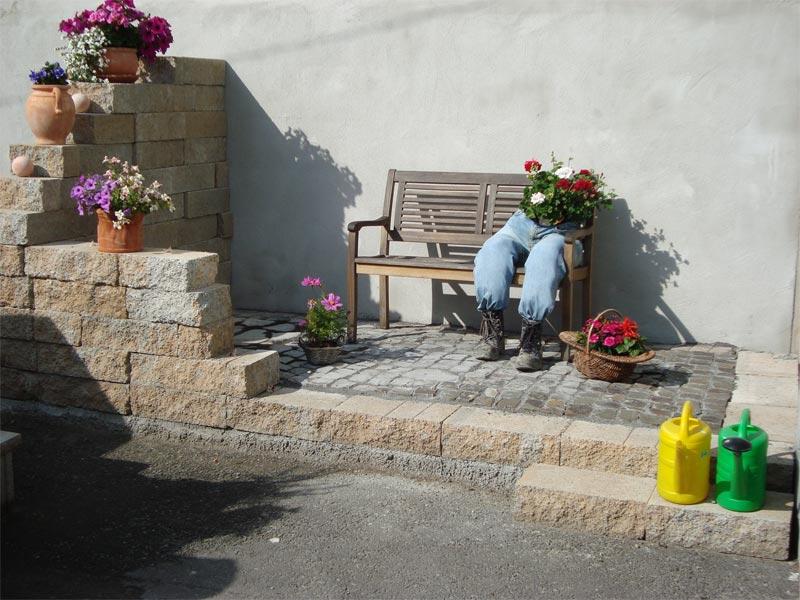pi - bossen block - betonwerk pieper | schwerbetonsteine ... - Gartenabgrenzungen Aus Stein