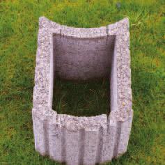 mini pi wall pflanzstein betonwerk pieper. Black Bedroom Furniture Sets. Home Design Ideas