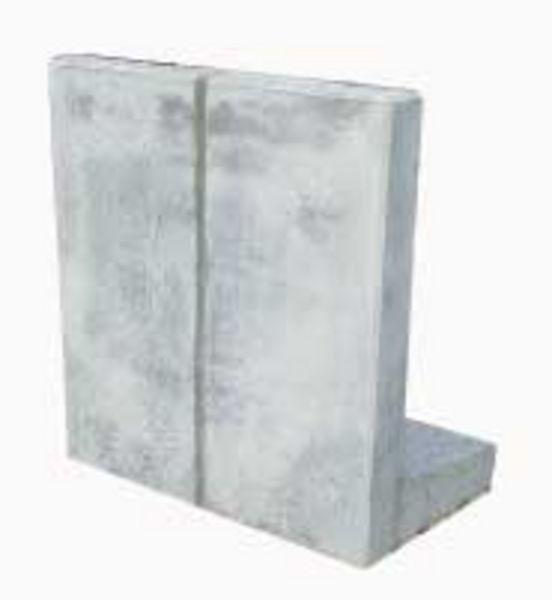 L-Steine Winkelstützen von Pieper Beton als massive Bewehrungen ...
